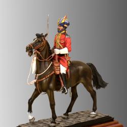 Oficial Nativo. 1895.