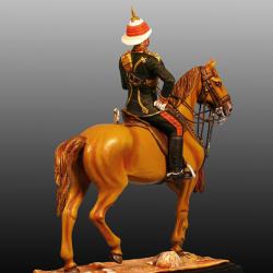 Oficial Caballería del Nizam