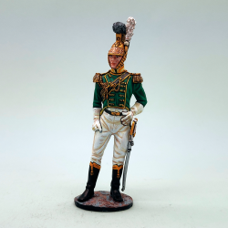REN032 French King's Mounted Standard Bearer
