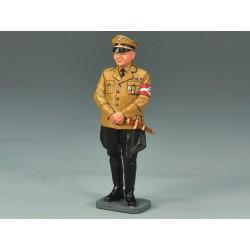 WWII-18 Teniente con acordeón