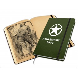 Libreta ilustrada Normandy...