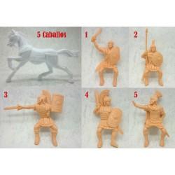 Reamsa - Romanos a caballo
