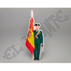 Guardia Civil bandera de...