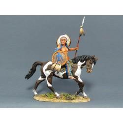 IDA6003 Sioux Warrior on Horse