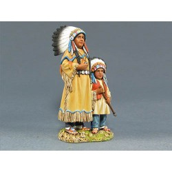 IDA6008 Sioux Woman and Child