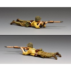 JN057 Lying Prone Rifleman
