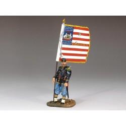 CW036 Union Sergeant w Flag