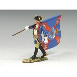 BR071 Marching Flagbearer...