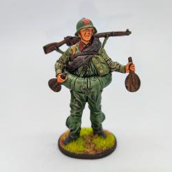 WWII-57 Soldado con equipo...