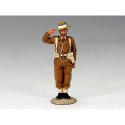EA034 Saluting Gurkha Officer