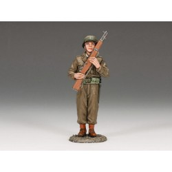 DD159 US Soldier Port Arms